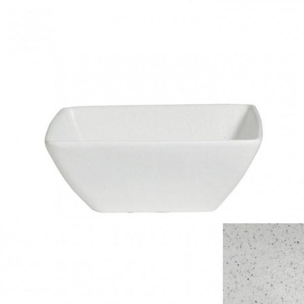 China Bowl, M marmorweiß - 1,5 L - 9,5 x 9,5 x 10 cm