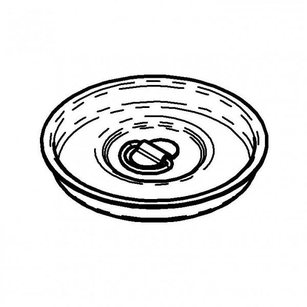 SPARE Deckel/Haube Edelstahldeckel für Milchkanne 3 Liter