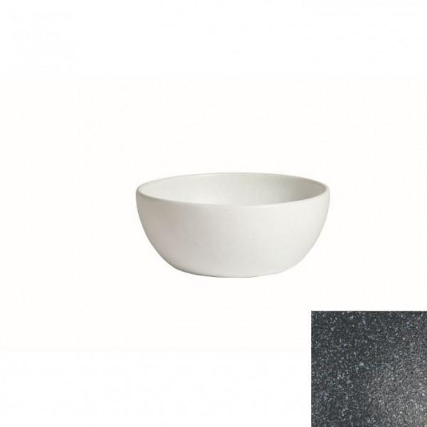tiefe Schüssel, rund, S granitschwarz - 2,3 L - Ø 22 x 9 cm