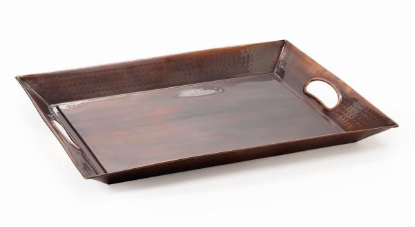 Kupfertablett, rechteckig 47 x 36,2 cm
