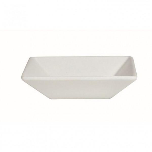 tiefe Schüssel, quadratisch XL weiß - 5,2 L - 36,5 x 36,5 x