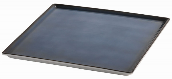 SPARE Platte/Schale '33x33' blau Porzellanplatte 1/1