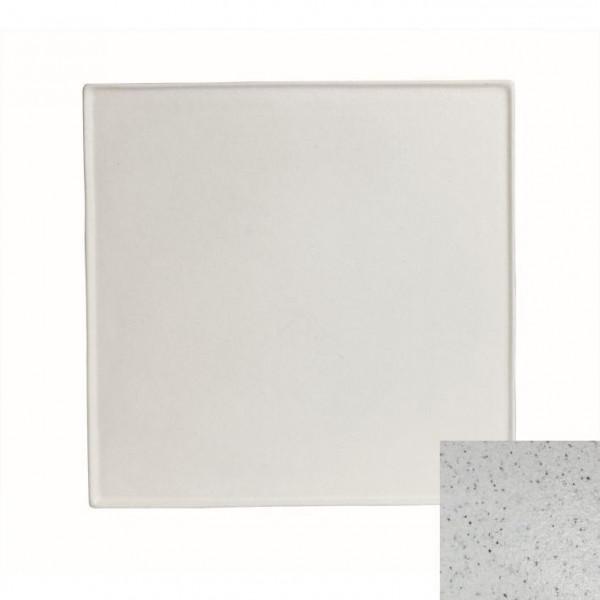 Platte, quadratisch marmorweiß - 45 x 45 x 1,0 cm