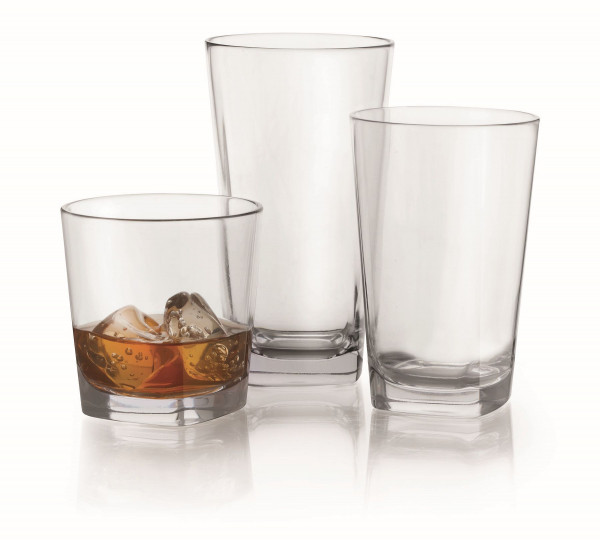 Trinkglas aus SAN Cubed™ - 473 ml - Ø 8,4 x 14,7 cm