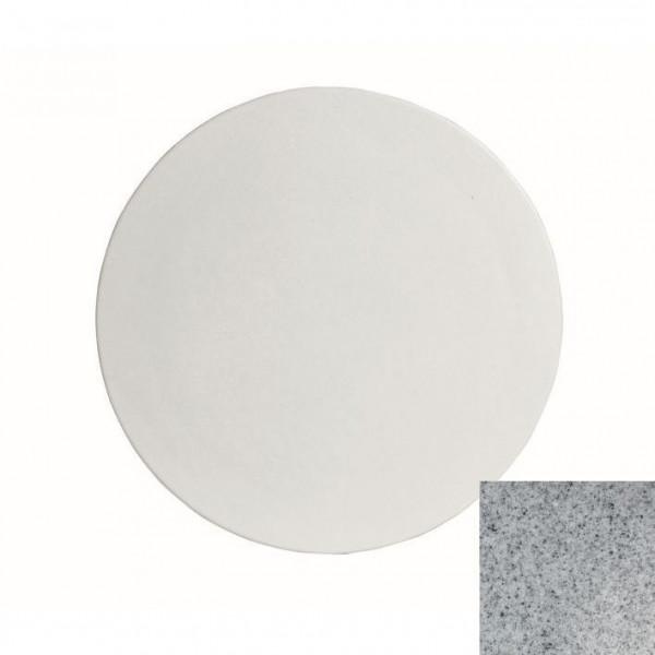große runde Platte , L grau - Ø 45,1 x 1,5 cm