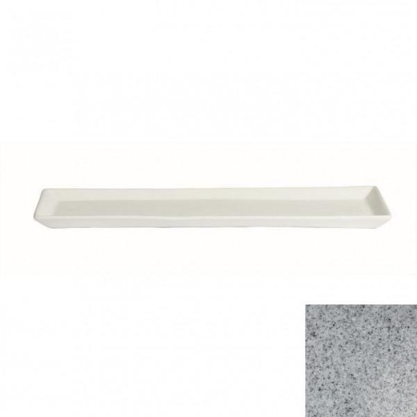 Gorumet Platte grau - 500 ml - 19,5 x 48,5 x 3 cm