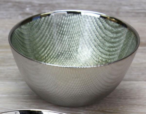 Glasschale, grün 700 ml - Ø 15,2 x 6,4 cm
