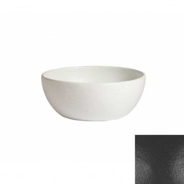 tiefe Schüssel, rund, M schwarz - 4 L - Ø 27,5 x 11 cm