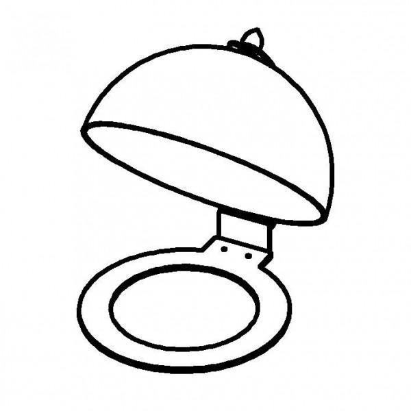 UNISON Haubensystem für Frischeplatte '300', Mod. Gold