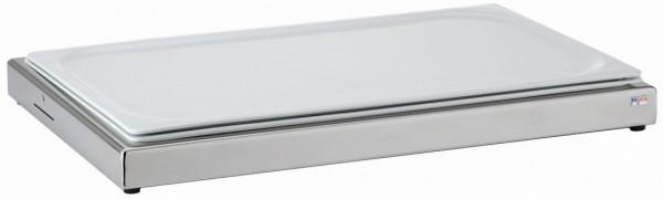 UNISON Frischeplatte 'GN' mit einer GN-Porzellanplatte