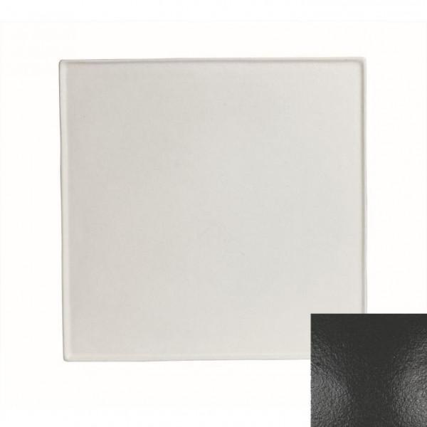 Platte, quadratisch schwarz - 45 x 45 x 1,0 cm