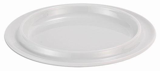 SPARE Platte/Schale - weiß Porzellanschale Ø 200mm