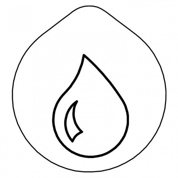 ACCESSOIRE Laserung 'Wasser' Edelstahldeckel für Karaffe
