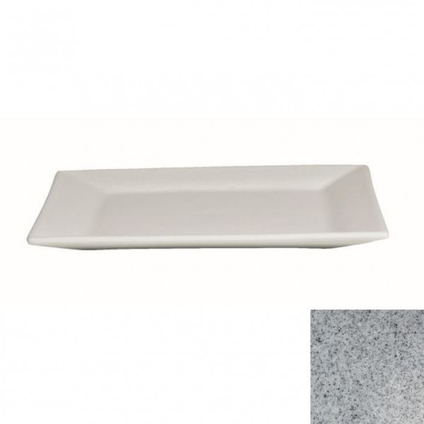flache Platte, quadratisch grau - 45 x 45 x 4,5 cm