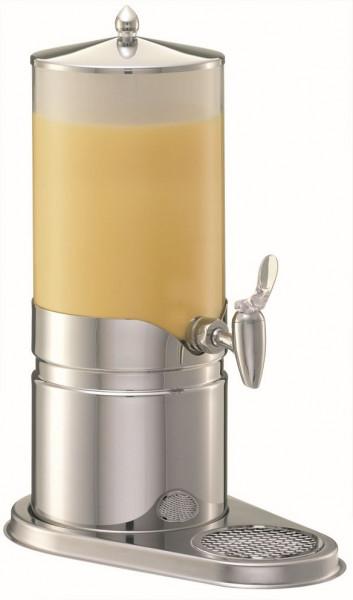 ELEGANCE Saftkanne 5 Liter, Edelstahl, Behälter (Opal-