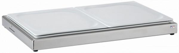 UNISON Frischeplatte 'GN' mit zwei 1/2 GN-Platte, Mod.