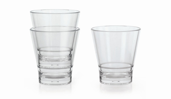 Trinkglas aus SAN Revo™ - 355 ml - Ø 9,1 x 10,2 cm