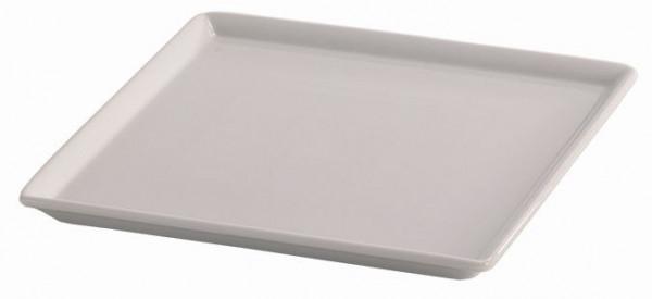 SPARE Platte/Schale '23x23' weiß Porzellanplatte 1/1