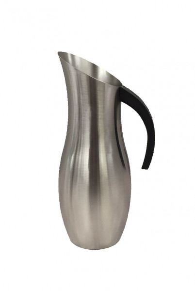 Edelstahl Karaffe, mit Griff 1.9 l - 14 x 29,9 cm