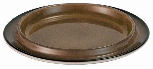 SPARE Platte/Schale - caramel Porzellanschale Ø 200mm