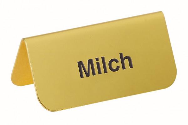 ACCESSOIRE Schild Modell Gold