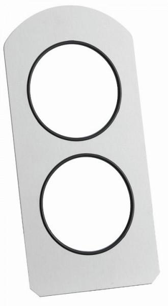 GASTRO Vario Rack Rückwand für 2 Displays