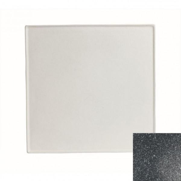Platte, quadratisch granitschwarz - 45 x 45 x 1,0 cm