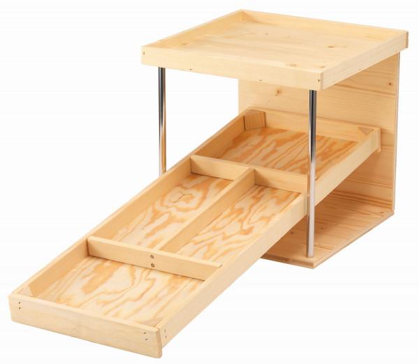 RAISER Brotstation 'Natur' aus Naturholz gefertigt