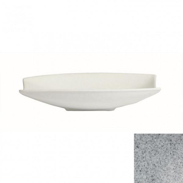 Obstschale mit Lippe, rechteckig grau - 4 L - 30,5 x 53,5 x