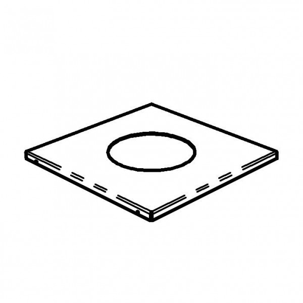 SPARE Platten/Schalen Dekorahmen, schwarz für bowl M