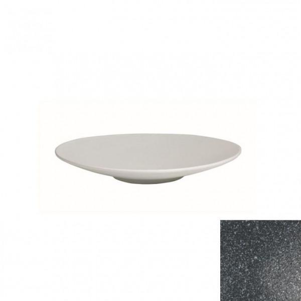 Wok flach, rund granitschwarz - 700 ml - Ø 31 x 3,5 cm