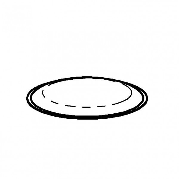 Frilich Kühlkissen rund (blau) Ø 233 mm