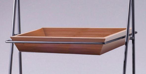 Tablett aus Bambus 45,7 x 30,5 x 5,1 cm