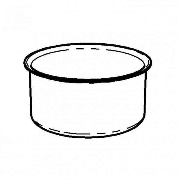 SPARE Behälter Metallschale Kühlakku für Saftkanne