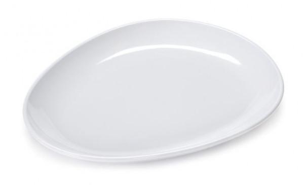 Melamin Platte, eiförmig Siciliano® - 27,9 x 23,5 cm