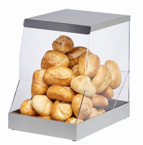 ELEGANCE Brotstation aus Acryl, 30 Liter Standfuß und Deckel
