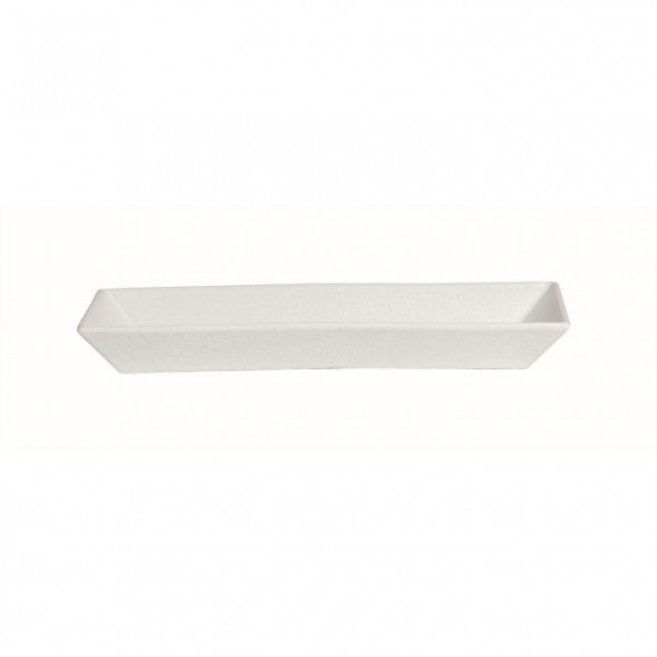 Schale rechteckig, tief weiß - 3,0 L - 21 x 50,5 x 6 cm