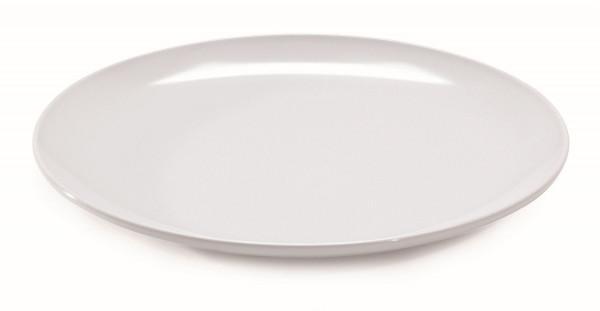 Melamin Platte, rund Siciliano® - weiß - Ø 45,7 cm