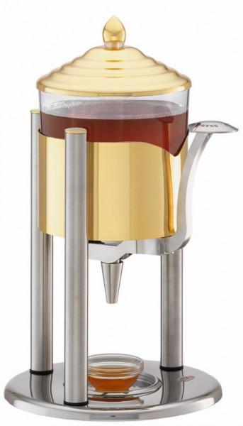 ELEGANCE Honigspender für 1 KG flüssigen Honig, Modell Gold