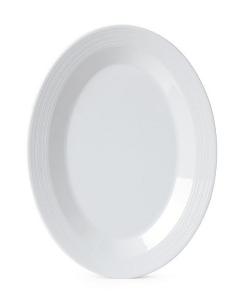 Melamin Platte, oval Minski™ - 30,5 x 22,8 cm