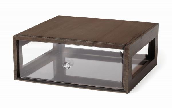Brotbox 'Gray Ash' rechteckig - 33 x 18,5 x 18 cm
